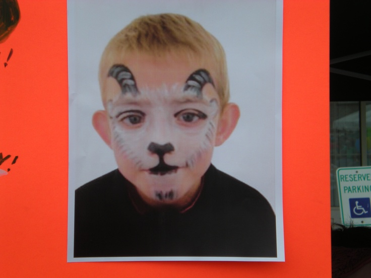 goat face painting face painting fun pinterest