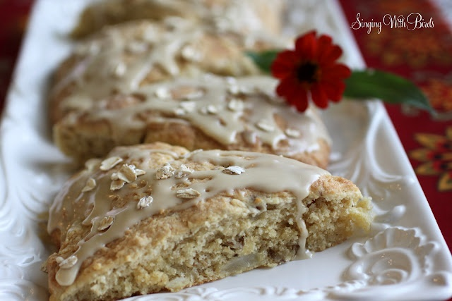 maple oatmeal scones | MUFFINS & SCONES, Tea party time? | Pinterest
