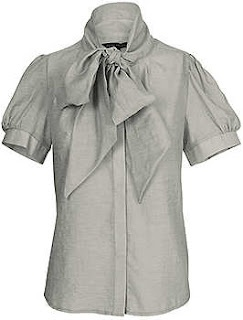 Veronica Cotton Shirt in Grey from FCUK - Australia 2008