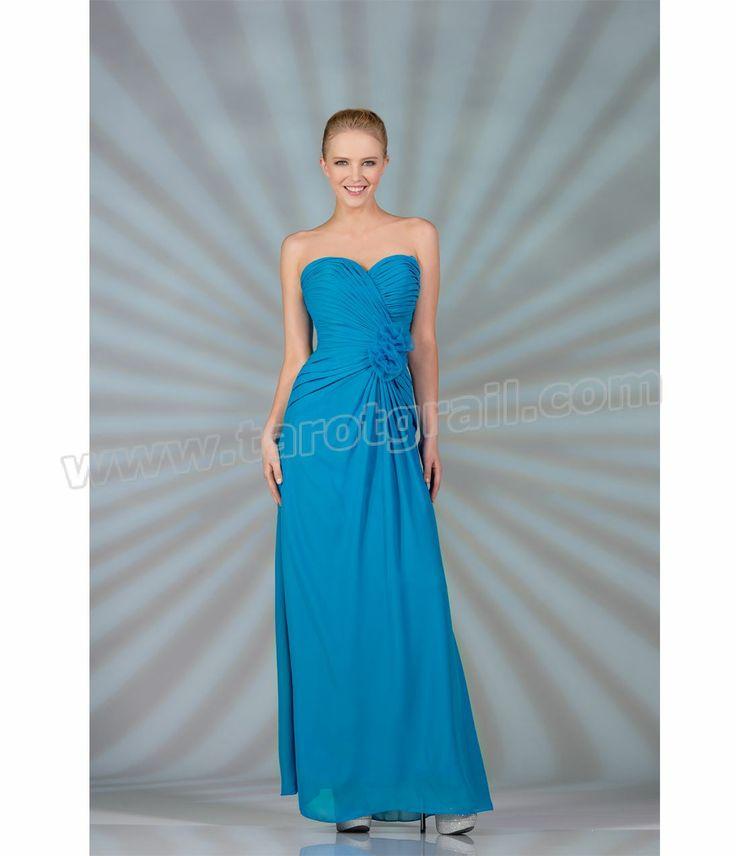 Ocean blue evening dresses