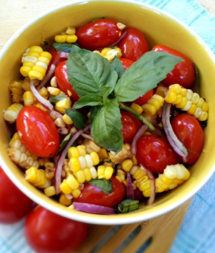 and sweet corn salad fresh corn zucchini and tomato salad grilled corn ...