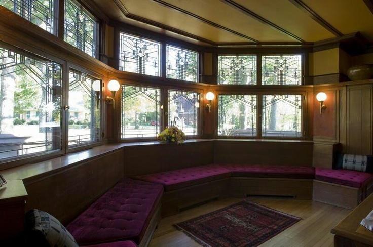Frank Lloyd Wright Interior Kankakee IL Architecture I