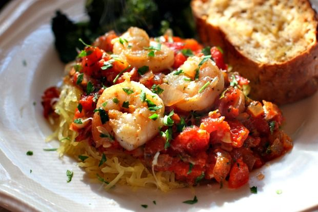 ... For Divine Living: Roasted Spaghetti Squash with Chunky Red Herb Sauce