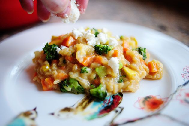 Risotto Primavera from Pioneer Woman. Made this last night and it was ...