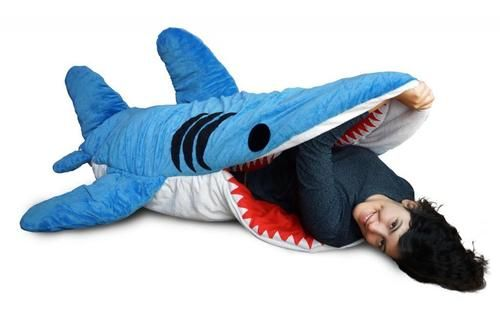 Chumbuddy 3 Adult Giant Handmade Shark Sleeping Bag
