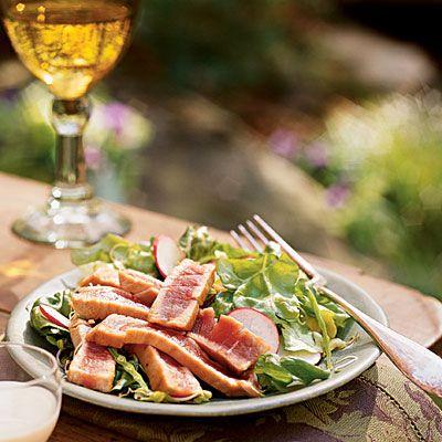 Seared Tuna and Radish Salad | Food and Drink | Pinterest