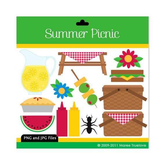 spring picnic clipart - photo #28