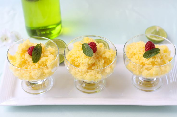 Homemade Fruit Granita Recipe — Dishmaps