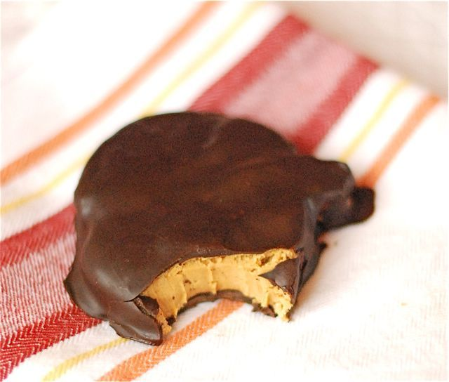 Homemade Pumpkin Reese's Peanut Butter Cups Posted by thenaptimechef