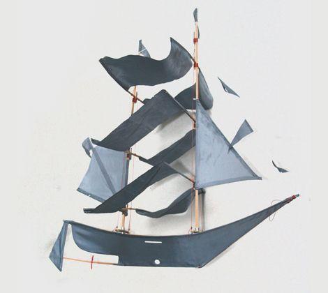 ship kite! /gray label