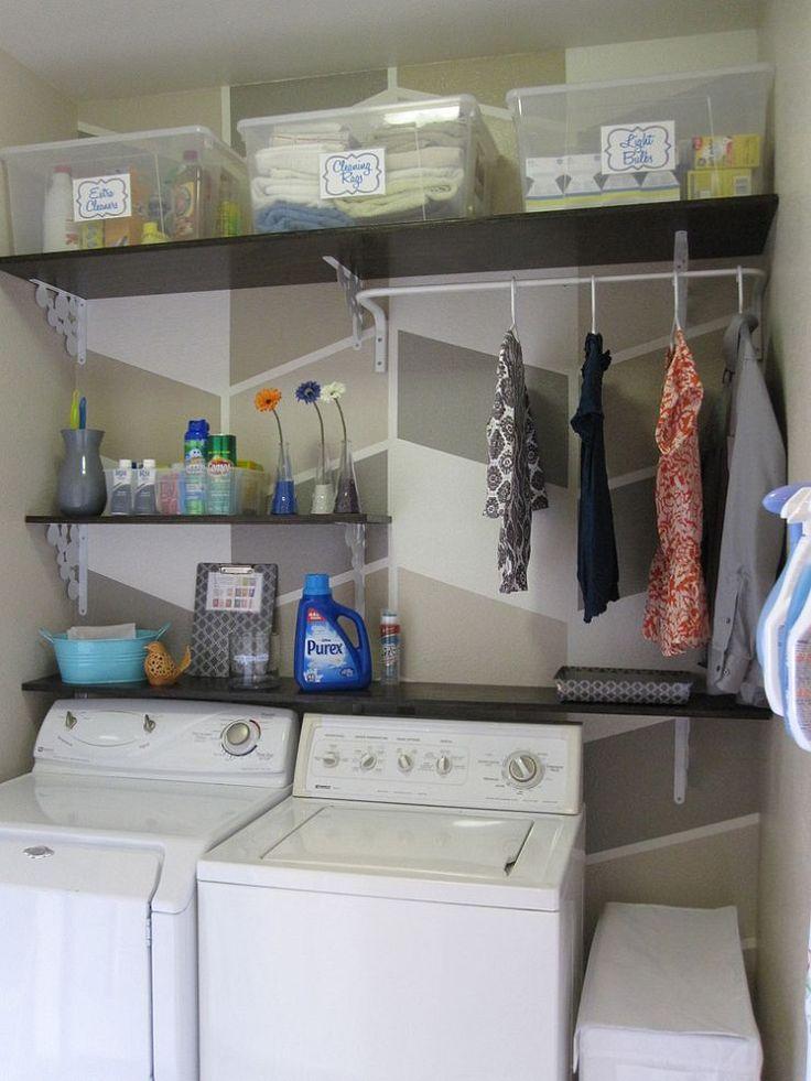 124 laundry room overhaul pass through to garage custom diy shelve. Black Bedroom Furniture Sets. Home Design Ideas