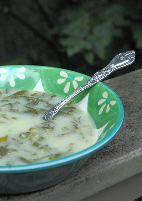 portuguese kale soup (caldo verde) | Meatless | Pinterest