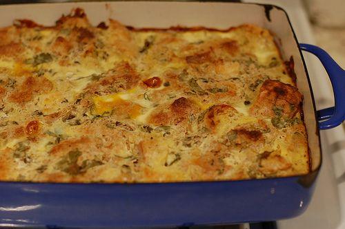 Chile rellenos strata. | Recipes. Comfort food. | Pinterest