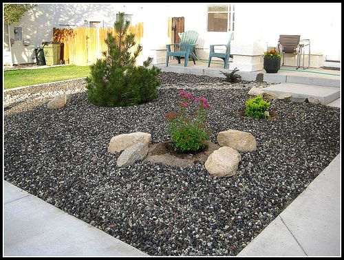 Low maintenance front yard diy pinterest for Low maintenance front garden ideas
