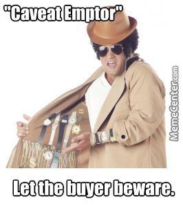 Let The Buyer Beware Latin 55