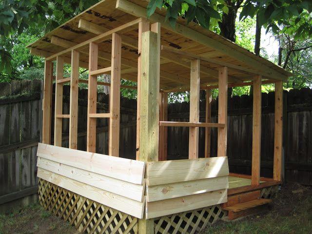 Diy backyard playhouse kids pinterest for Diy outside playhouse