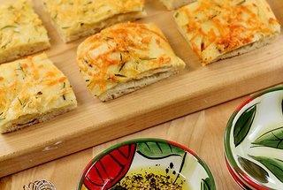 Italian Focaccia Bread with Olive Oil, Rosemary and Garlic — Recipe ...