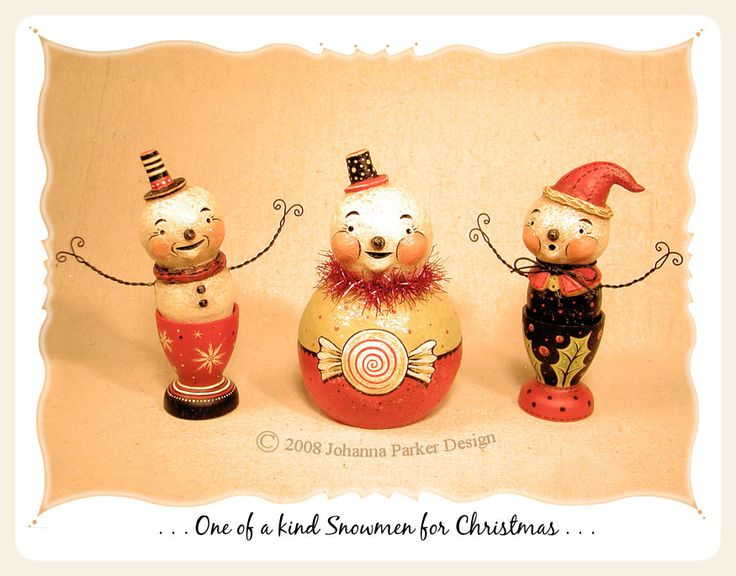 Johanna Parker Design * Christmas Folk Art Gallery