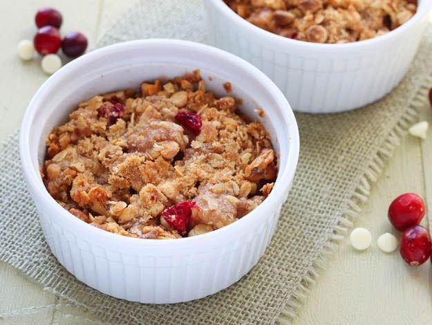 Pear Cranberry & White Chocolate Crisp   Recipe