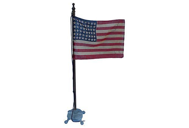 single star flag