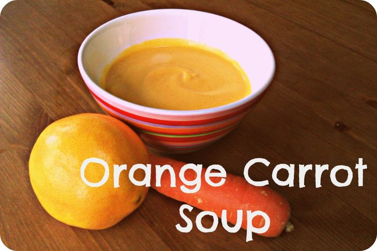 Autumn Soups at the Cherry Farm: Orange Carrot Soup