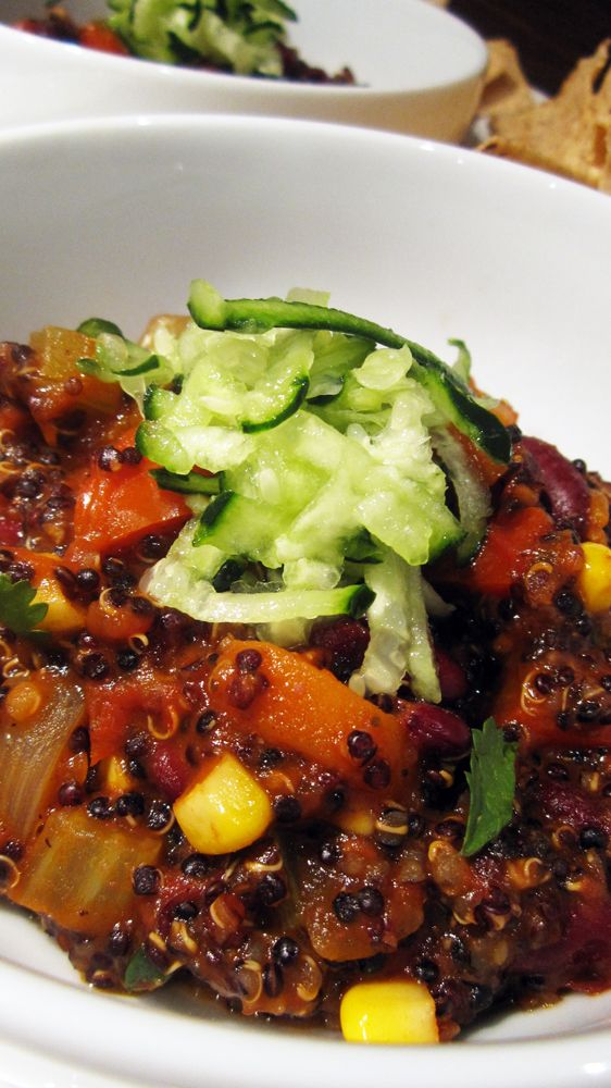 Quinoa Chili, Nick just loved this when @Sally Carson made it and ...