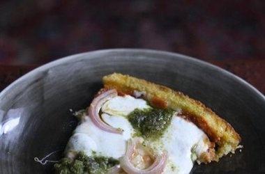 Gluten Free Deep Dish Polenta Pizza | gluten free main courses | Pint ...