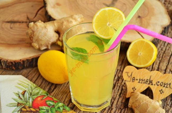 Ginger Lemonade Recipe | Chin Chin | Pinterest