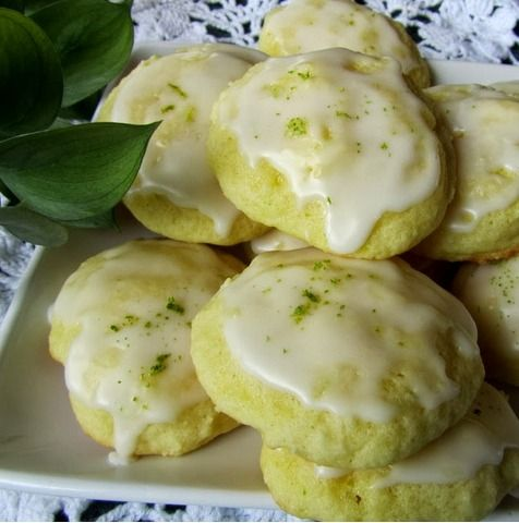 Lime Tea Cookies..in time for Spring! Oh does this recipe sound ...