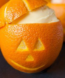 Halloween Orange Sherbet Pumpkins - So cute and so easy! Get your ...