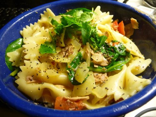 Pasta With Tuna And Capers In White Wine Sauce Recipes ...