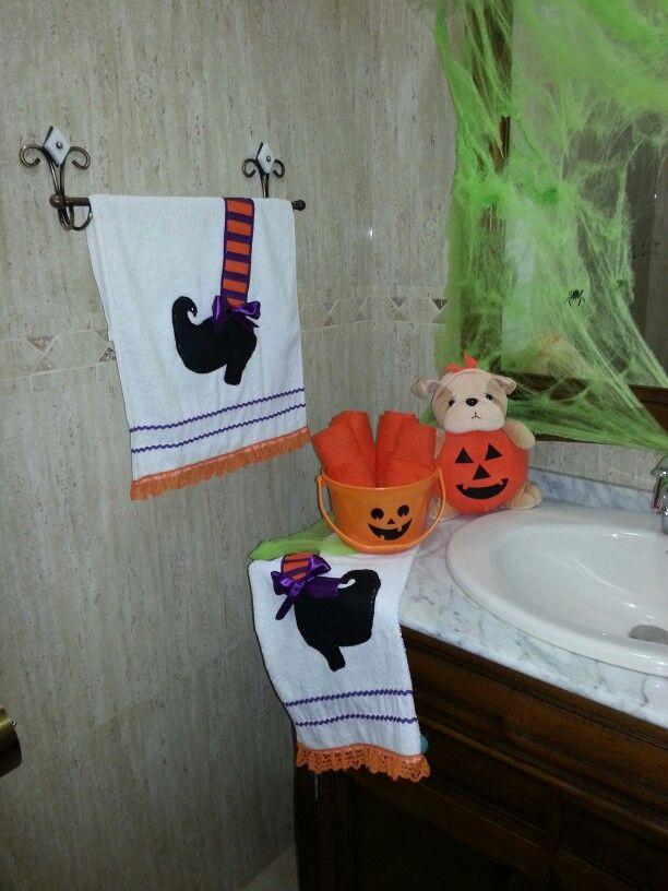 Decoracion del ba o para halloween halloween 2013 - Adornos de halloween ...