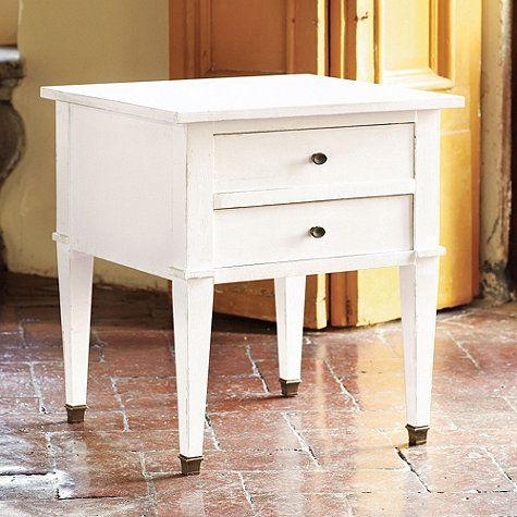 Bouclier Side Table Ballard Designs