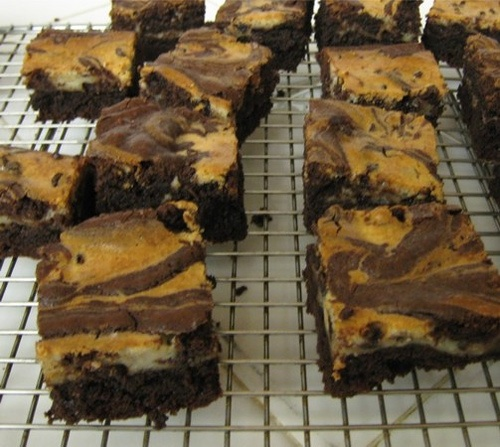 Marbled Cream Cheese Brownies | Cheating | Pinterest