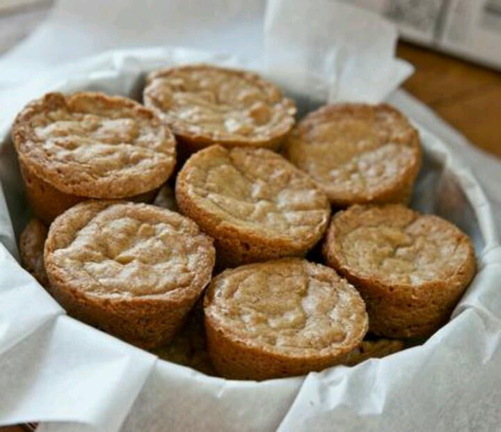 Blondie Brownie Bites | Desserts | Pinterest
