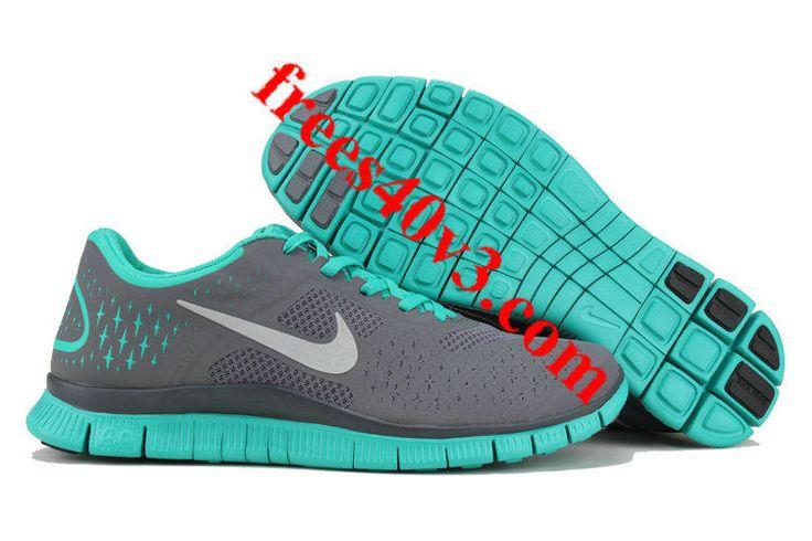 Nike Free 4.0 V2 Womens Shoes Grey/Tropical Twist
