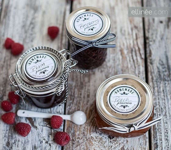 Personalized jam jar labels free printables labels pinterest
