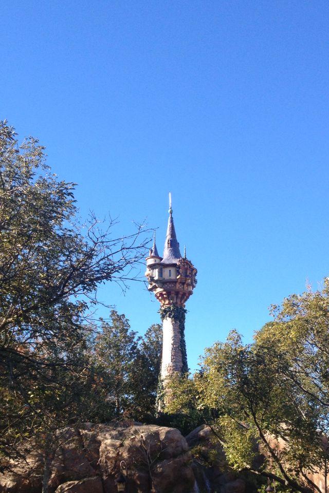 rapunzels tower magic kingdom