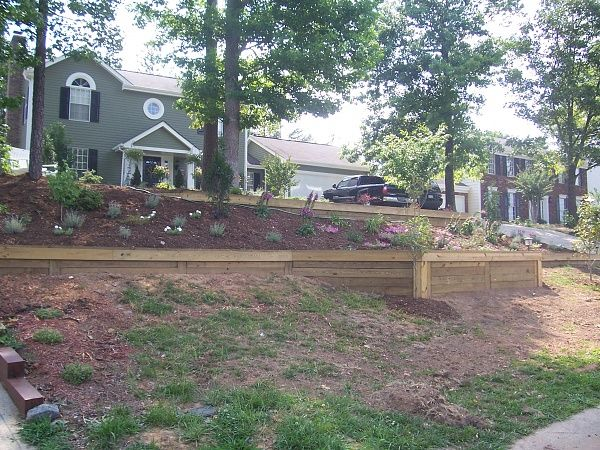 Landscaping Ties At Lowes : Landscape ties lowes railroad landscaping wooden