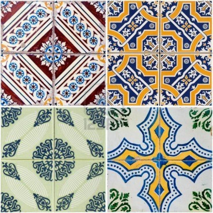 Vintage azulejos tiles pinterest - Azulejos vintage ...