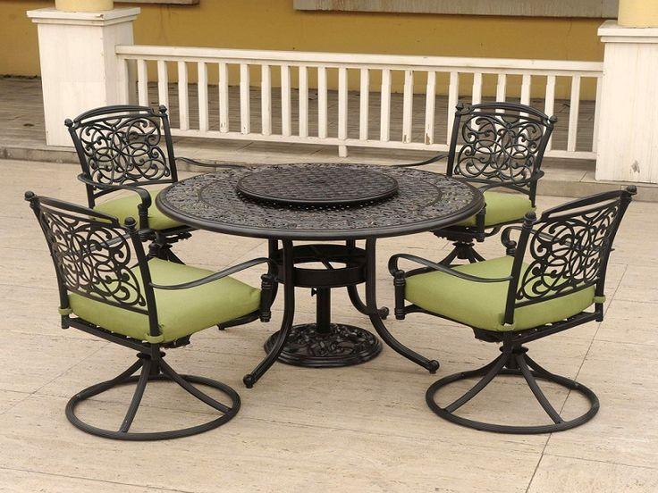Iron patio furniture cushions - Aluminum Patio Furniture Home Kulo Ideas I Like For My