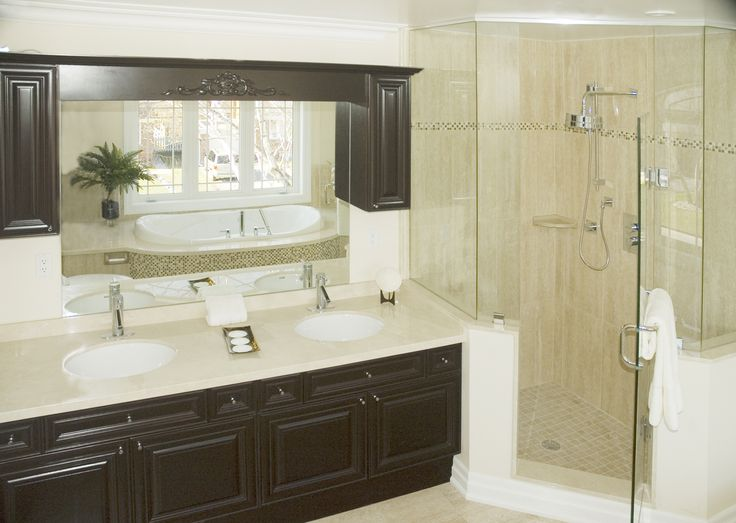 Excellent Vanity With Storage Tower Traditionalbathroom
