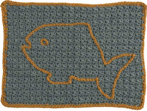 Free Crochet Pattern Pet Mat : crochet pattern for a cat nap mat CROCHET.for.pets ...