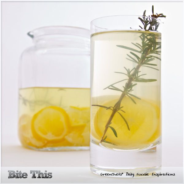 Lemon-Rosemary Spritzer 6 c water 1/2 c agave 6 lemons, thinly sliced ...