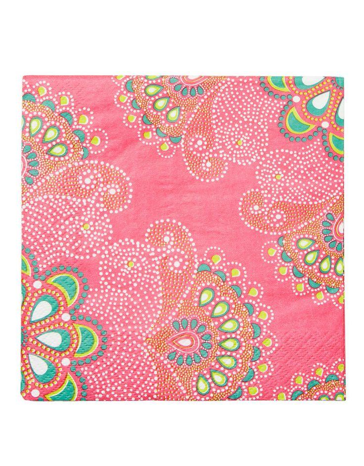 DOTTY servett cerise | Papernapkins | Napkin | napkin | Kökstextil | Inredning | INDISKA Shop Online