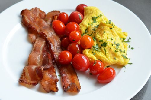 Eggs, bacon, and cherry tomatoes | LIVING LOW CARB- RECIPES!!! YUM ...