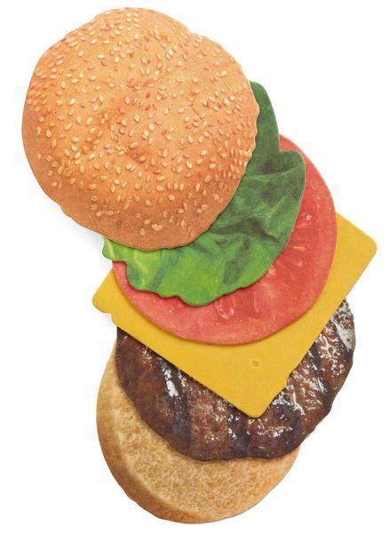 Burger Coasters – Set of 6 6