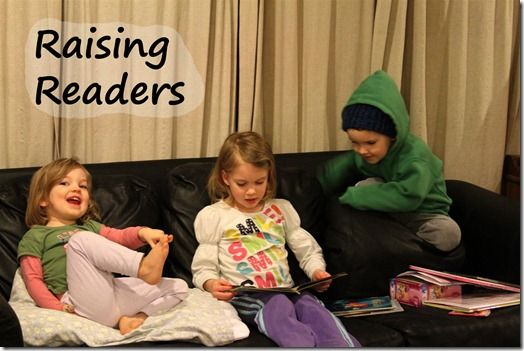 Twelve things we do to encourage a love of reading in our home. What are your favorite tips for raising readers?