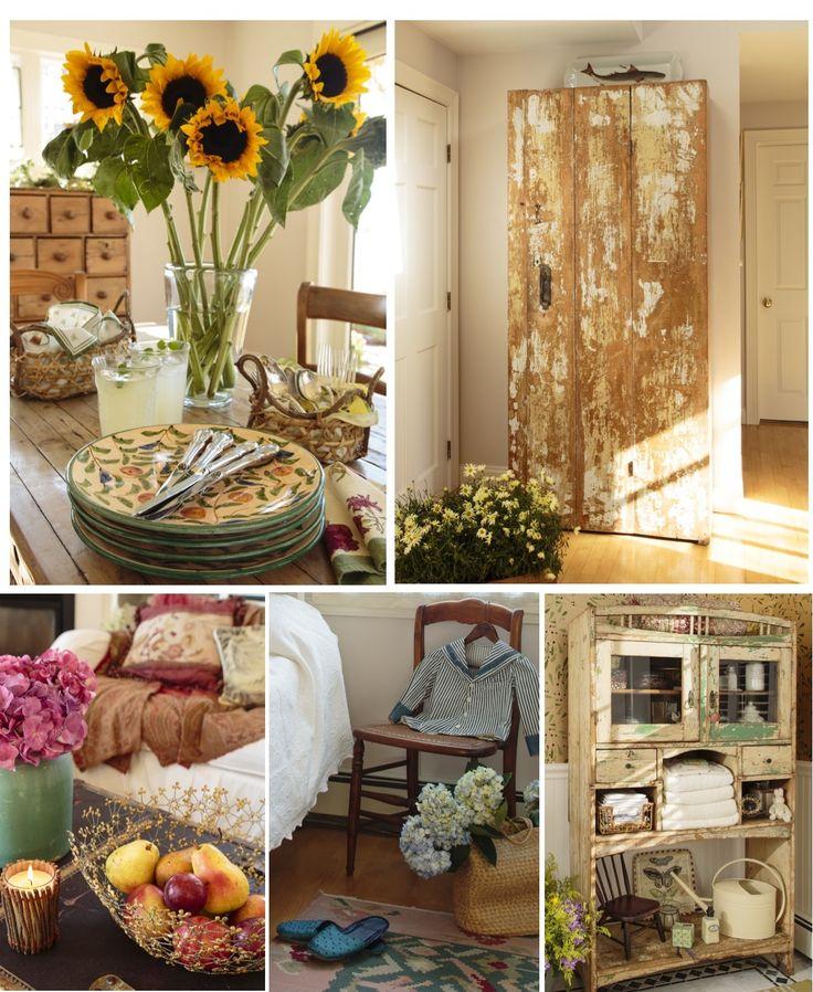 Prairie Style Decorating Romantic Prairie Style Design Details Pinterest