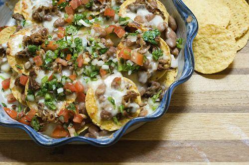 Cowboy Nachos: Our GO-TO recipe for leftover smoked brisket. A ...